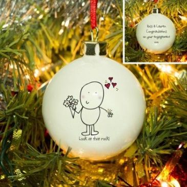 Chilli & Bubble's Engagement Bauble